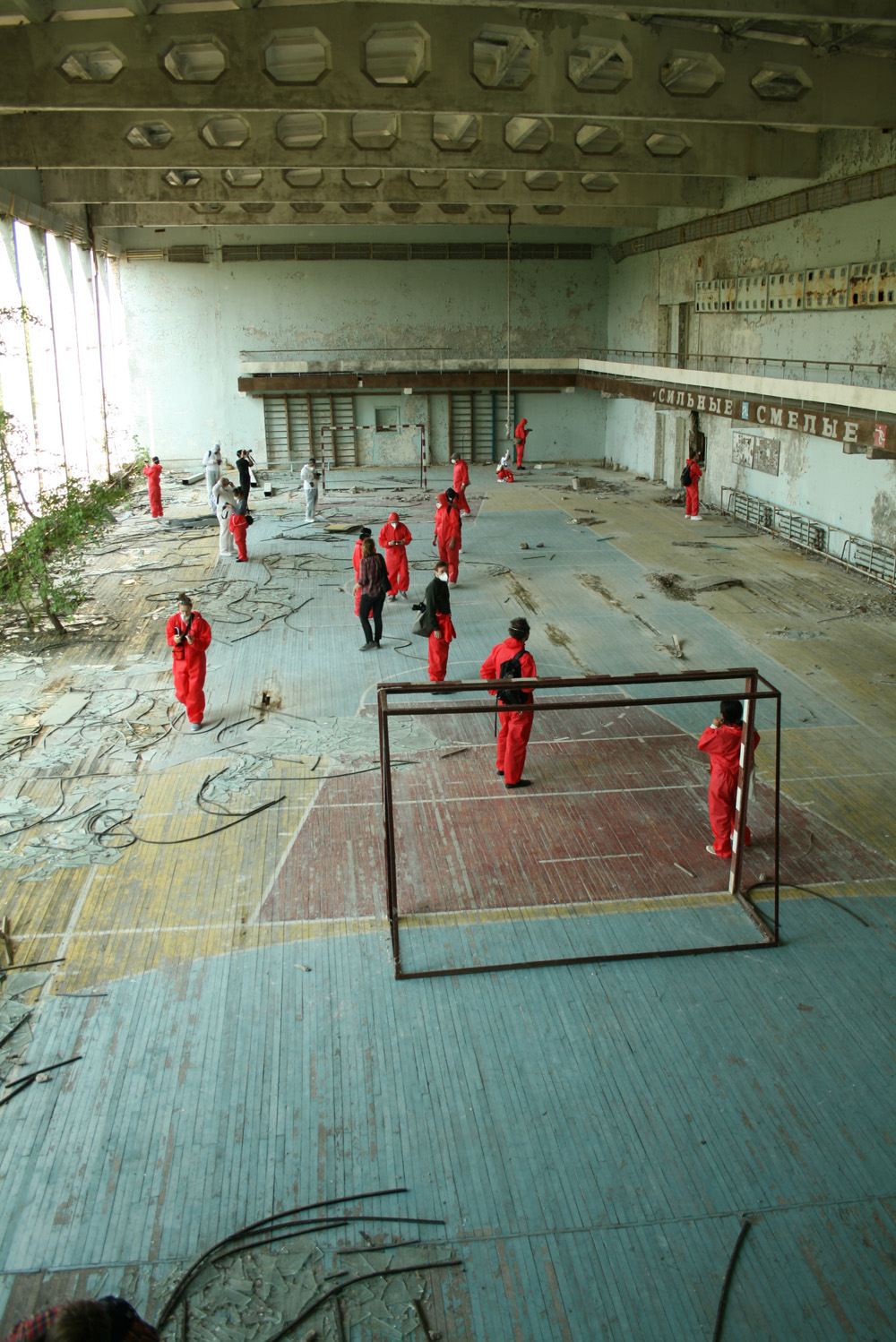 football gymnasium- ballet chernobyl