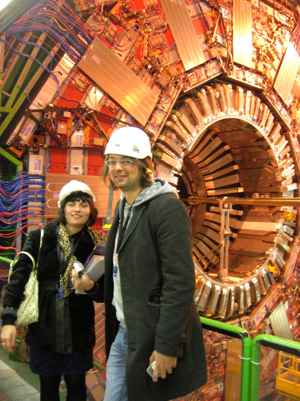 me at the LHC-CMS detector copy